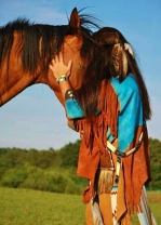 Horses are deeply intuitive animals and form bonds for life,