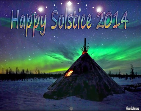 May this year's Solstice mark a new, bringing Great Spirit's Highest Blessings to you and those you love...