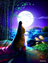 A month passed and Blue Jay did not return as he had promised Bright Moon.